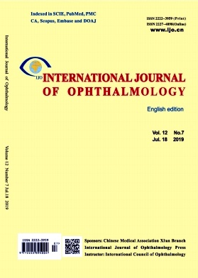 International Journal of Ophthalmology2019年第07期