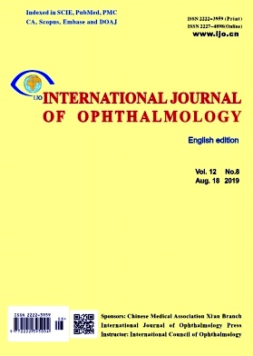 International Journal of Ophthalmology2019年第08期