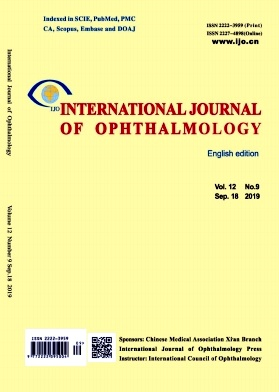 International Journal of Ophthalmology2019年第09期