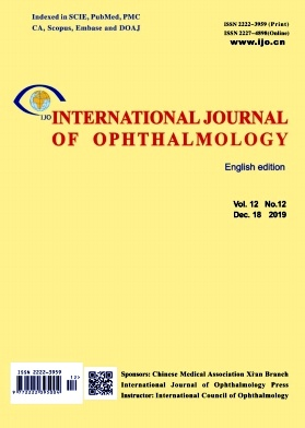 International Journal of Ophthalmology2019年第12期
