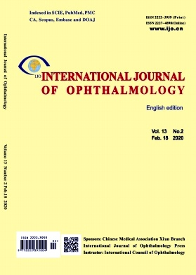 《International Journal of Ophthalmology》2020年02期