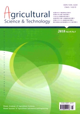 Agricultural Science & Technology2018年第05期