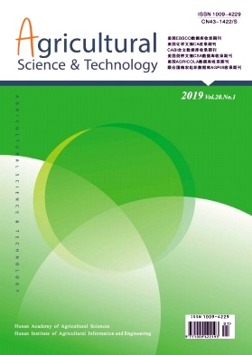 Agricultural Science & Technology2019年第01期