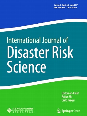 International Journal of Disaster Risk Science2017年第02期