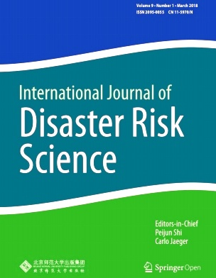 International Journal of Disaster Risk Science2018年第01期