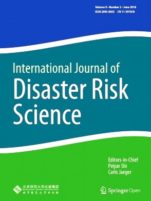 International Journal of Disaster Risk Science2018年第02期