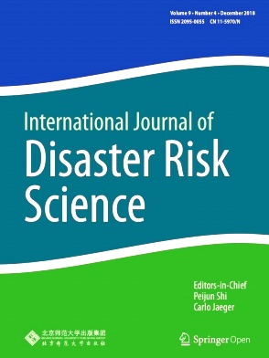 International Journal of Disaster Risk Science2018年第04期