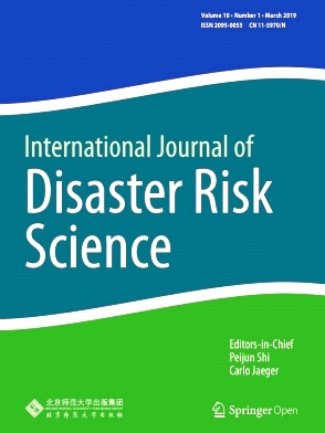 International Journal of Disaster Risk Science2019年第01期