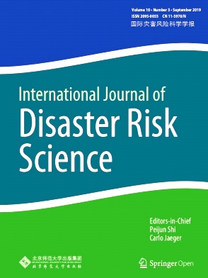 International Journal of Disaster Risk Science2019年第03期