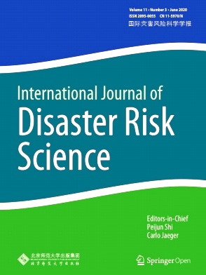 International Journal of Disaster Risk Science杂志