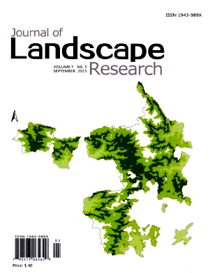 《Journal of Landscape Research》2015年05期