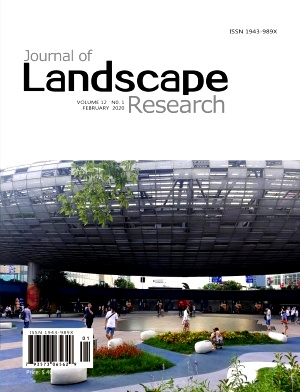 《Journal of Landscape Research》2020年01期