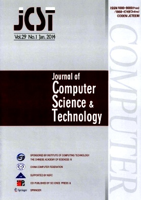 Journal of Computer Science & Technology2014年第01期