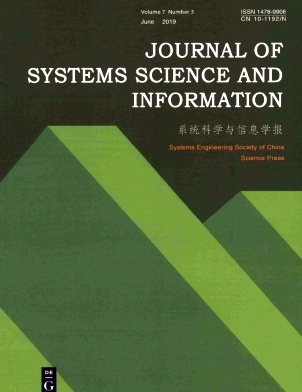Journal of Systems Science and Information