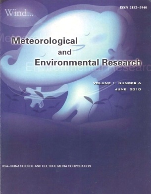 《Meteorological and Environmental Research》2010年06期