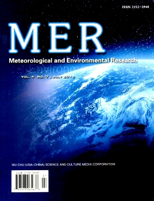 《Meteorological and Environmental Research》2013年07期