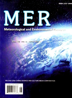 Meteorological and Environmental Research2019年第03期
