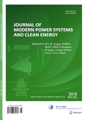 Journal of Modern Power Systems and Clean Energy2018年第03期