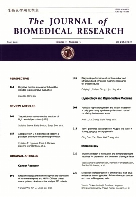The Journal of Biomedical Research2018年第03期