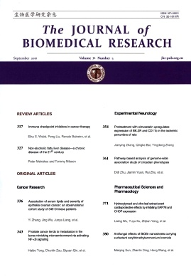 The Journal of Biomedical Research2018年第05期
