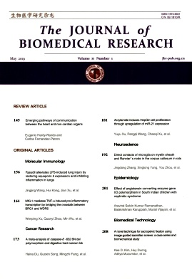The Journal of Biomedical Research2019年第03期