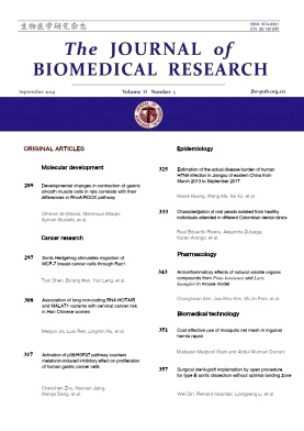 The Journal of Biomedical Research2019年第05期