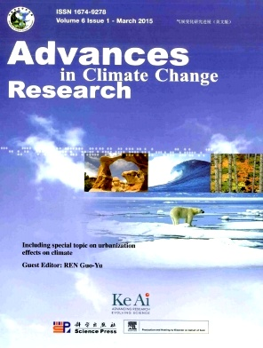 Advances in Climate Change Research2015年第01期