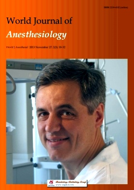 《World Journal of Anesthesiology》2013年03期