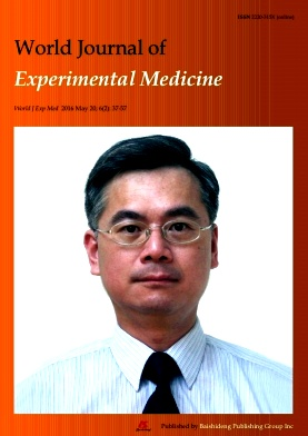 World Journal of Experimental Medicine2016年第02期