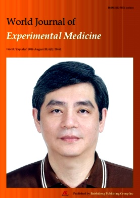 World Journal of Experimental Medicine2016年第03期