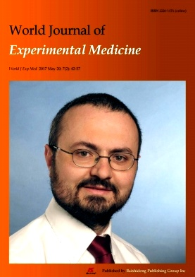 World Journal of Experimental Medicine2017年第02期