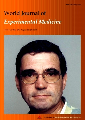 World Journal of Experimental Medicine2017年第03期