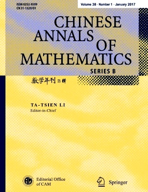 《Chinese Annals of Mathematics,Series B》2017年01期
