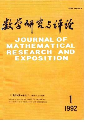 Journal of Mathematical Research with Applications杂志电子版1992年第01期