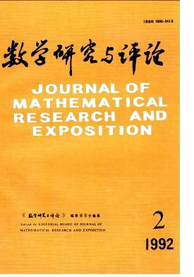Journal of Mathematical Research with Applications杂志电子版1992年第02期