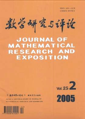 Journal of Mathematical Research with Applications杂志电子版2005年第02期