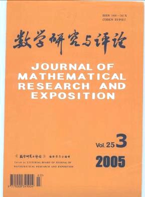 Journal of Mathematical Research with Applications杂志电子版2005年第03期