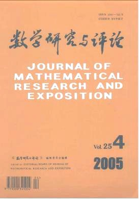 Journal of Mathematical Research with Applications杂志电子版2005年第04期