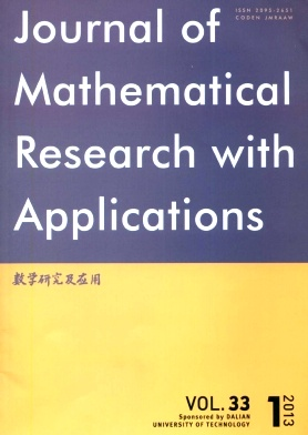 Journal of Mathematical Research with Applications杂志电子版2013年第01期