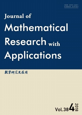 Journal of Mathematical Research with Applications2018年第04期