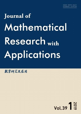 Journal of Mathematical Research with Applications2019年第01期