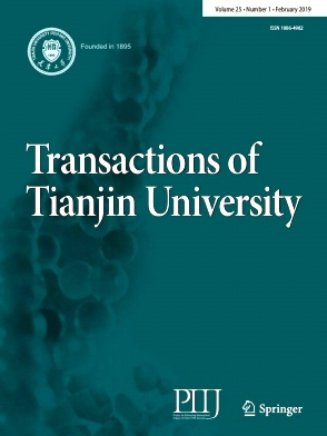 Transactions of Tianjin University2019年第01期
