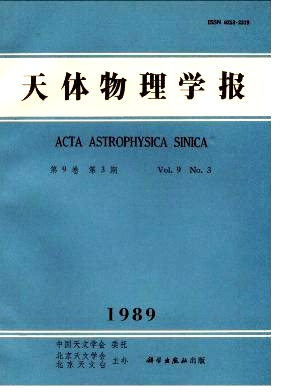《Chinese Journal of Astronomy and Astrophysics》1989年03期