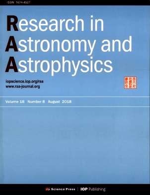 《Research in Astronomy and Astrophysics》2018年08期