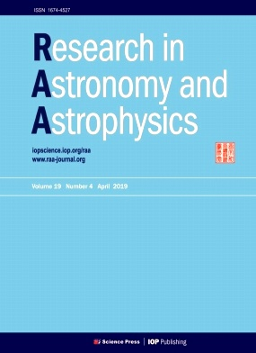 Research in Astronomy and Astrophysics2019年第04期