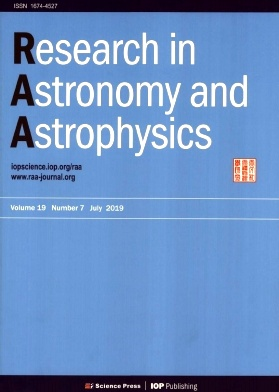 Research in Astronomy and Astrophysics2019年第07期