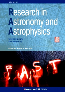 Research in Astronomy and Astrophysics2020年第05期