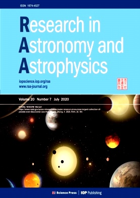 Research in Astronomy and Astrophysics2020年第07期