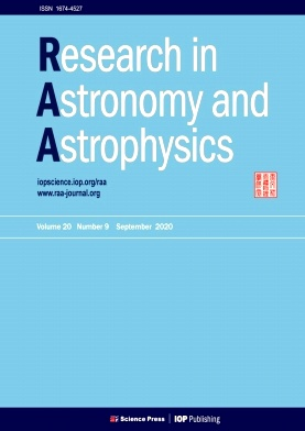Research in Astronomy and Astrophysics2020年第09期