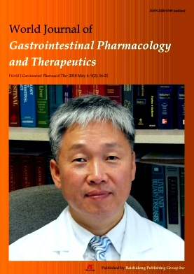 World Journal of Gastrointestinal Pharmacology and Therapeutics2018年第02期